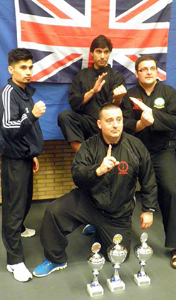 UK Wins Gold at Pencak Silat Belgian Open Championships 2014