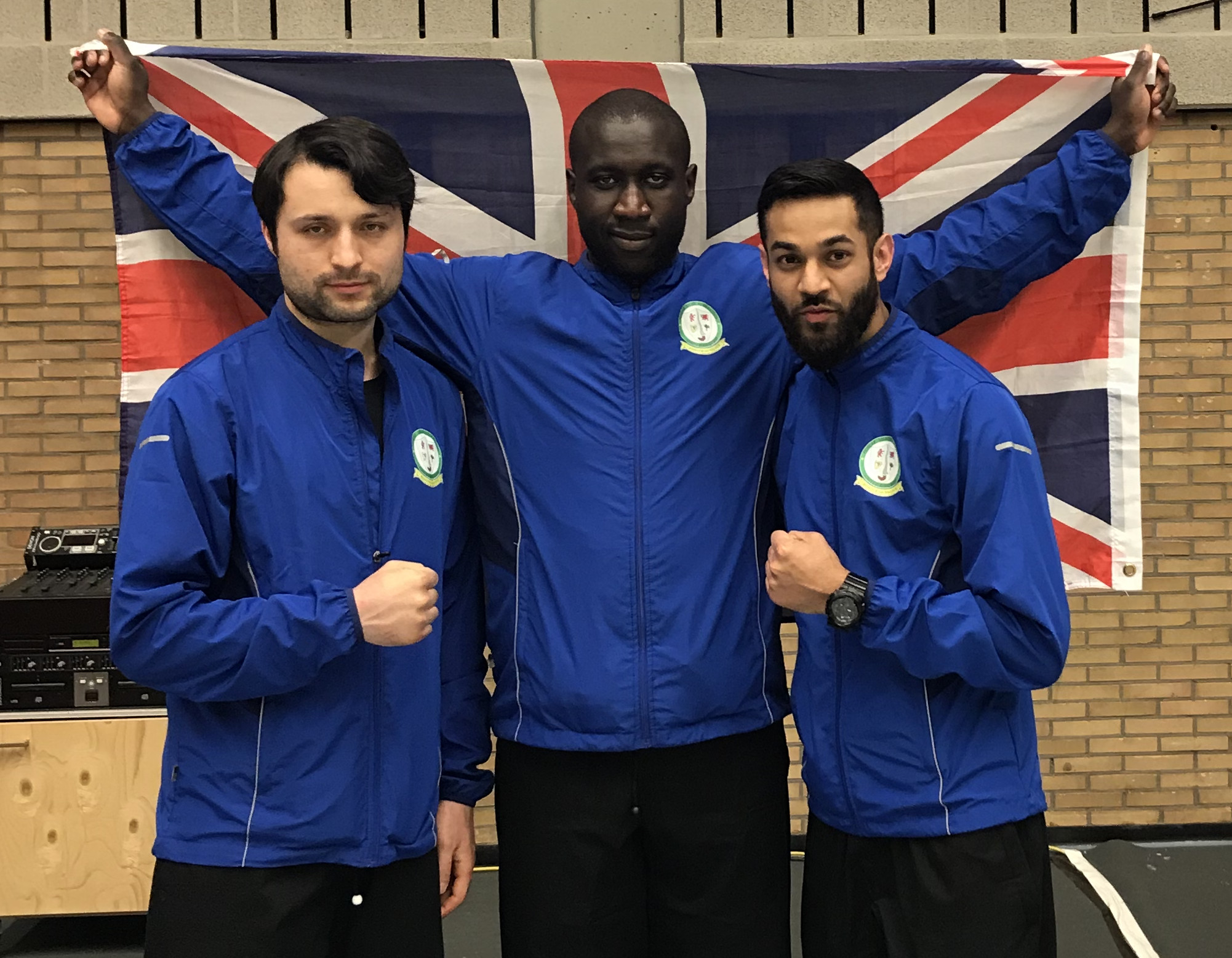 UK Great Britain Silat team at Belgium Open Championships 2018
