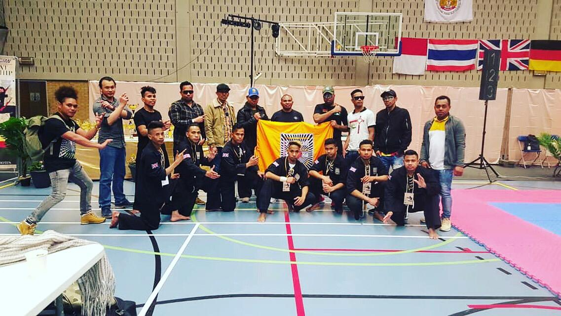 UK brings home trophies from the Pencak Silat Belgian Open Championship 2019