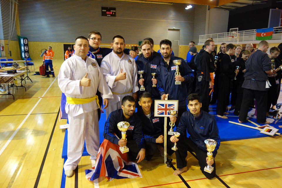 UK team win Gold at European Pencak Silat Championships 2013